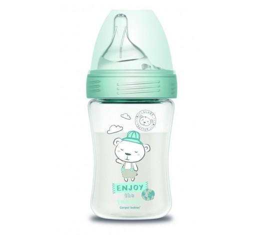 Антиколиковая бутылочка Haberman&Canpol babies, 260 мл - 1/098, Мишка