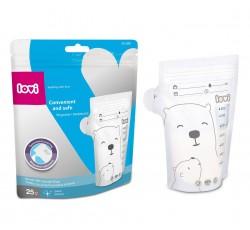 Пакети для зберігання молока 25 шт. Buddy bear - 12/208