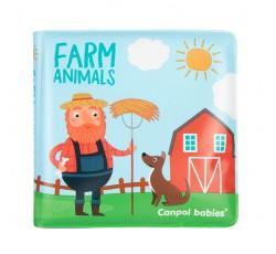 Іграшка-книжка м'яка пищалка Кольорова ферма - 2/083, 1 шт.