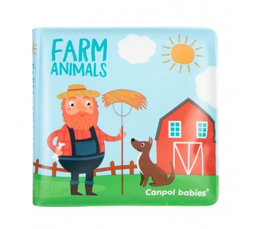 Игрушка-книжка мягкая пищалка Цветная ферма - 2/083, 1 шт.