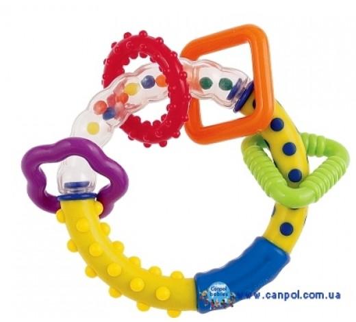 Погремушка Цветные шарики - 2/450