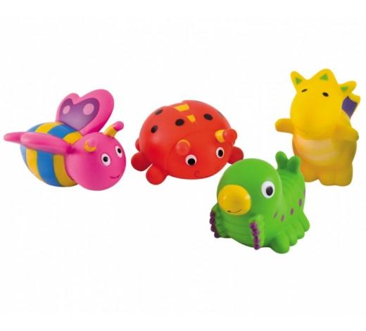 Игрушки в ванну Зверьки 4 шт. - 2/997