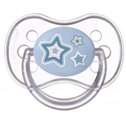Пустушка кругла латексна Newborn baby 6-18 м, 22/432