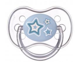 Пустышка круглая латексная Newborn baby 6-18 м, 22/432