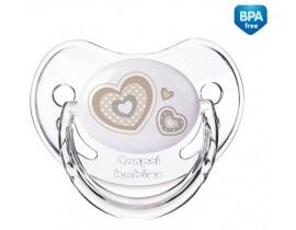 Пустышка силиконовая анатомическая Newborn baby 18+ месяцев - 22/567_bei