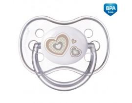 Пустышка силиконовая симметрическая Newborn baby 0-6 месяцев - 22/580_bei