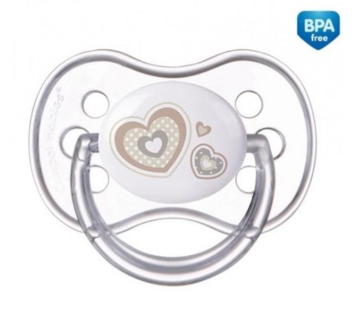 Пустышка силиконовая симметрическая 6-18 месяцев Newborn baby - 22/581_bei