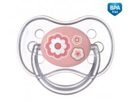 Пустышка силиконовая симметрическая 6-18 месяцев Newborn baby - 22/581_pin