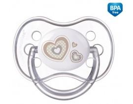 Пустышка силиконовая симметрическая 6-18 месяцев Newborn baby - 22/581