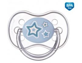 Пустышка силиконовая симметрическая Newborn baby,18+м - 22/582