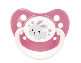 Пустышка силиконовая анатомическая 6-18 м Bunny & Company - 23/272