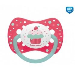 Пустышка силиконовая симметричная 0-6 м Cupcake - 23/282_pin