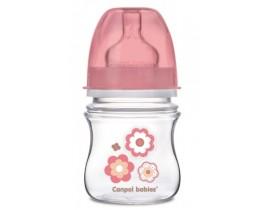 Бутылочка с широким горлышком антиколиковая Newborn baby 120 мл, EasyStart - 35/216_pin