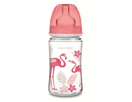 Антиколиковая бутылочка с широким горлышком Easystart, 240 мл. Jungle - 35/227_cor