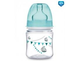 Бутылочка с широким горлышком антиколиковая PP Let's Celebrate, 120 мл - 35/228_blu