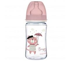 Антиколиковая бутылочка с широким горлышком 240 мл, PP Easystart Bonjour Paris - 35/232_pin