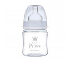Антиколиковая бутылочка с широким отверстием 120 мл PP Easystart Royal baby, синяя - 35/233_blu