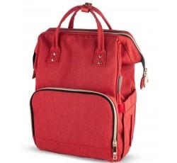 Багатофункціональний рюкзак для мам червоний - 50/101