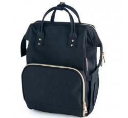 Багатофункціональний рюкзак для мам чорний - 50/102