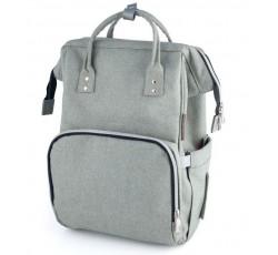 Багатофункціональний рюкзак для мам сірий - 50/103