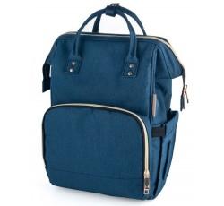 Багатофункціональний рюкзак для мам синій - 50/104