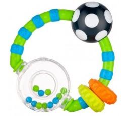 Брязкальце М'ячик і кольорові кульки - 56/145