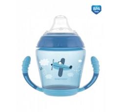 Чашка непроливайка с мягким носиком Toys - 56/502_blu, 230 мл
