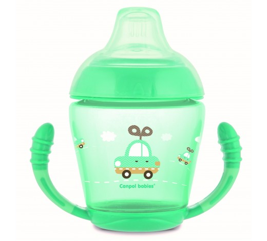 Чашка непроливайка с мягким носиком Toys - 56/502_tur, 230 мл