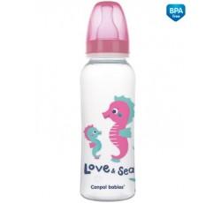 Бутылочка 250 мл. РР Love&See - 59/400