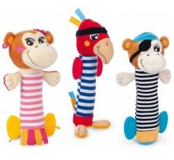 М'яка іграшка з пискавкою Веселі пірати - 68/034