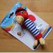 Мягкая игрушка с пищалкой Веселые пираты - 68/034