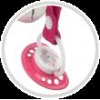 Игрушка-погремушка плюшевая с зеркалом Длинные ушки - 68/061
