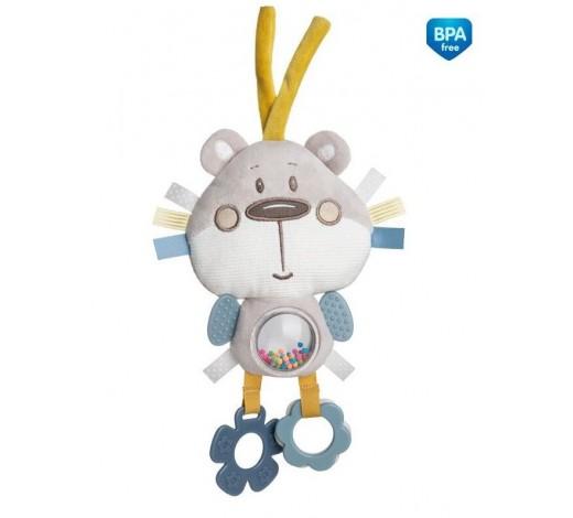 Плюшевая развивающая игрушка на кроватку Pastel Friends - 68/065_grey