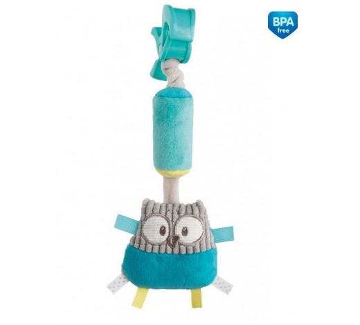 Игрушка плюшевая с колокольчиком Pastel Friends - 68/066_tur