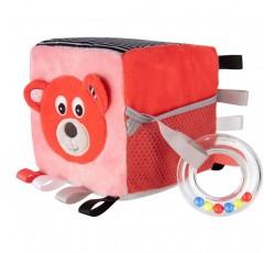 Развивающая мягкая игрушка-кубик Bears - 68/073_cor