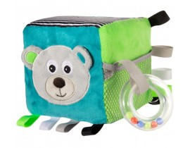 Развивающая мягкая игрушка-кубик Bears - 68/073_grey