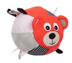 Мягкая игрушка-мячик с колокольчиком Bears -68/074_cor