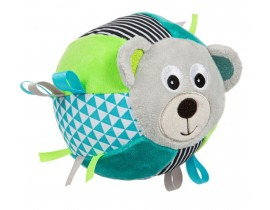 Мягкая игрушка-мячик с колокольчиком Bears -68/074_grey