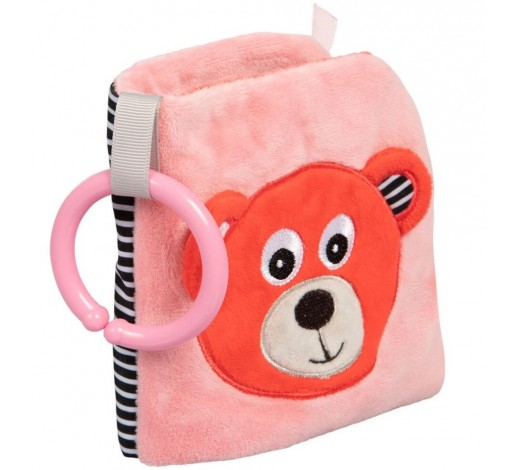 Развиваюзая игрушка-книжечка мягкая Bears - 68/075_cor