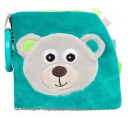 Розвиваюча іграшка-книжечка м'яка Bears - 68/075_grey