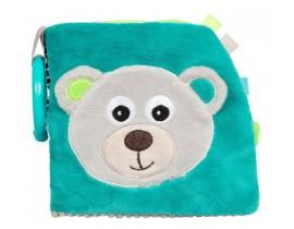 Развивающая игрушка-книжечка мягкая Bears - 68/075_grey