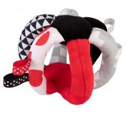 М'яка іграшка-м'ячик Sensory Toys - 68/082