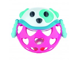 Игрушка-погремушка Розовая собачка - 79/101_pin