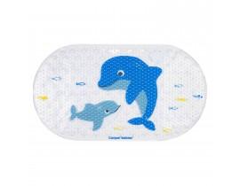 """Антискользящий коврик для ванной """"Дельфины"""" - 80/001"""