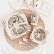 Набор бамбуковой посуды Lemur - 9/214, 5 шт