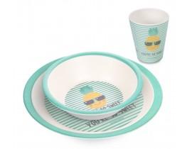 Набор посуды бамбуковый 3 ел. SO COOL - 9/226_tur